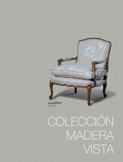 Colección madera vista - Tapizados Doñana