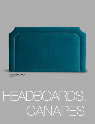 Bed headboards, canapes - Tapizados Doñana