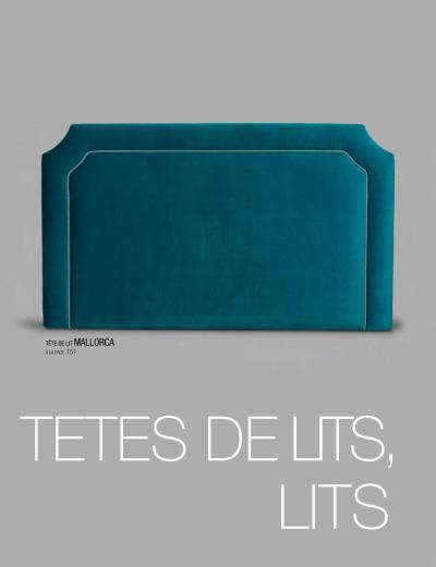Têtes de lit et lit coffres - Tapizados Doñana