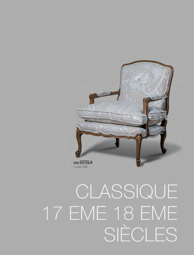 Collection classique 17eme / 18eme siècles - Tapizados Doñana