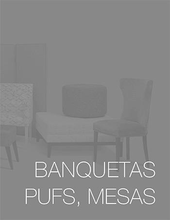 Catálogo de banquetas, pufs y mesas - Tapizados Doñana