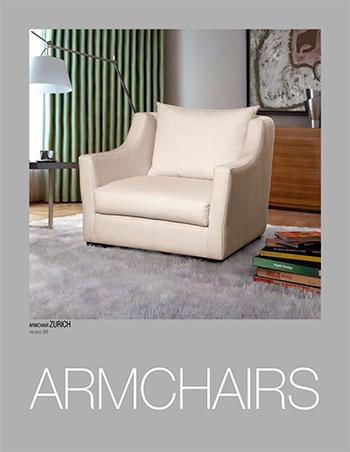 Armchairs catalogue - Tapizados Doñana