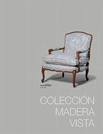 Catálogo de colección de madera vista - Tapizados Doñana