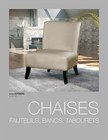 Catalogue de chaises, fauteuils, bancs et tabourets - Tapizados Doñana