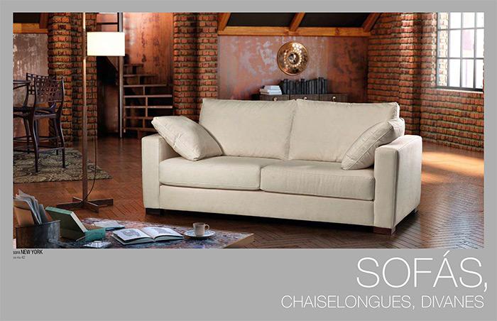 Catálogo de sofás - Tapizados Doñana